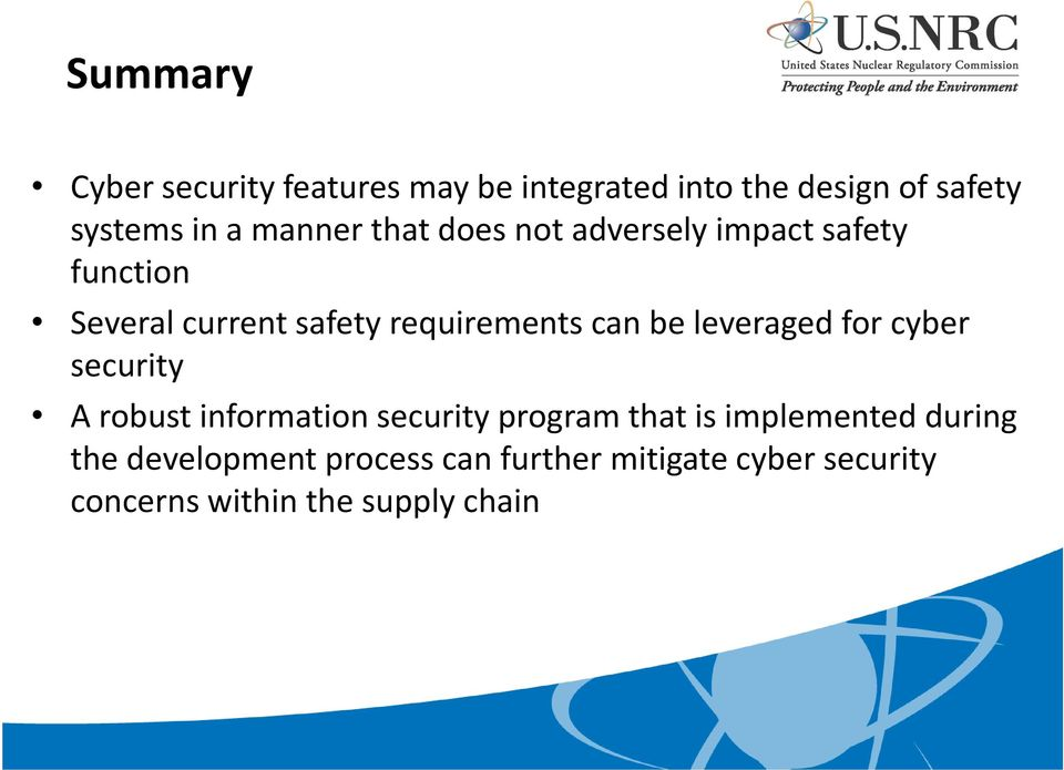 can be leveraged for cyber security A robust information security program that is