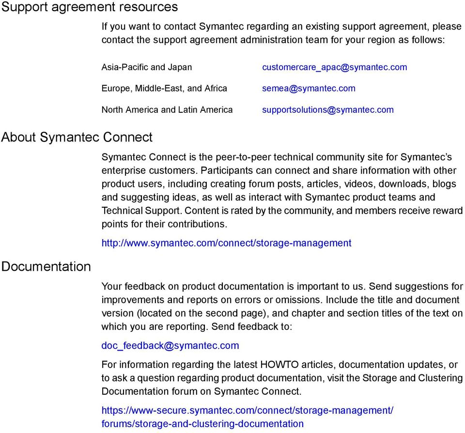 com About Symantec Connect Symantec Connect is the peer-to-peer technical community site for Symantec s enterprise customers.