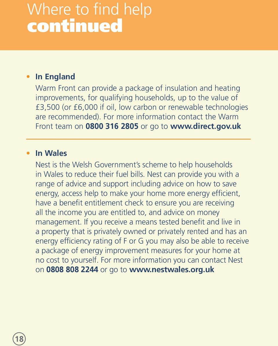uk In Wales Nest is the Welsh Government s scheme to help households in Wales to reduce their fuel bills.