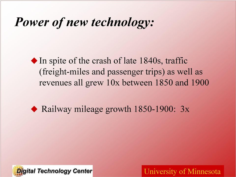 trips) as well as revenues all grew 10x between