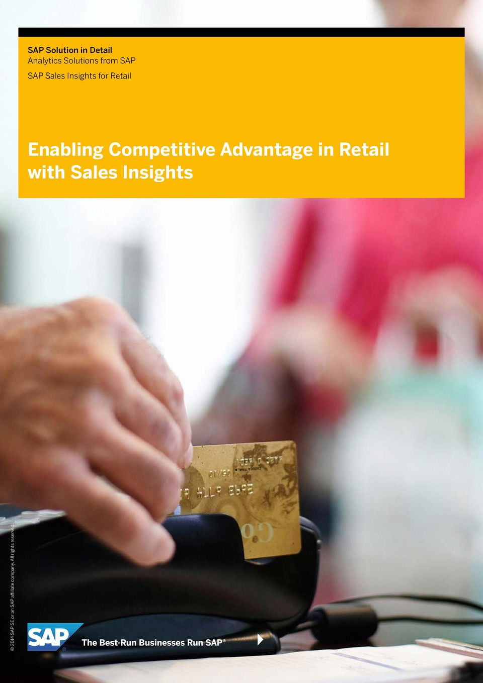 Insights for Retail Enabling