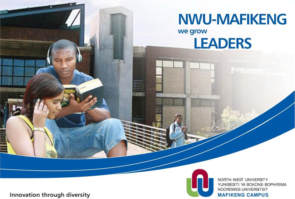 NORTH-WEST UNIVERSITY YUNIBESITI YA