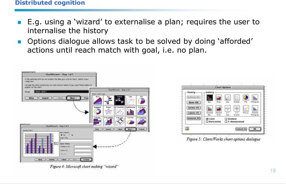 using a wizard to externalise a plan; requires the user