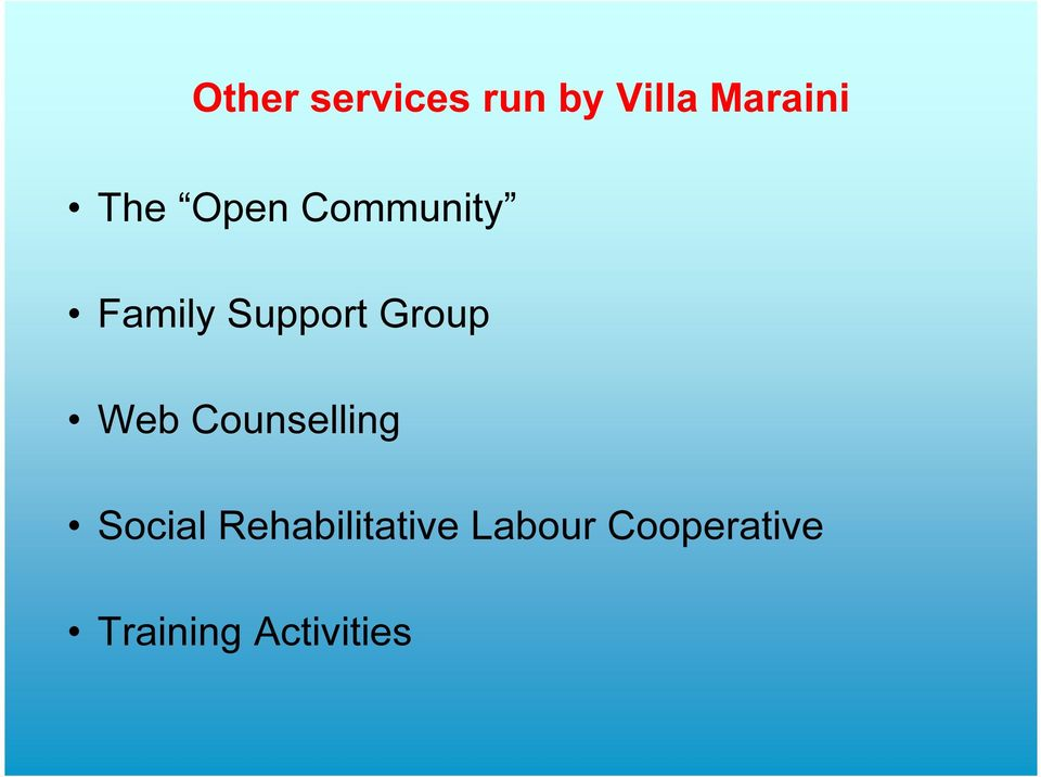 Group Web Counselling Social