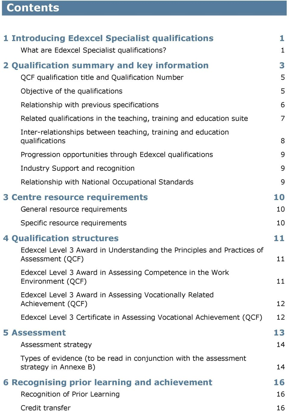 edexcel level 3 awards and certificate in assessing the quality of in the teaching training and education suite 7 inter relationships between teaching training