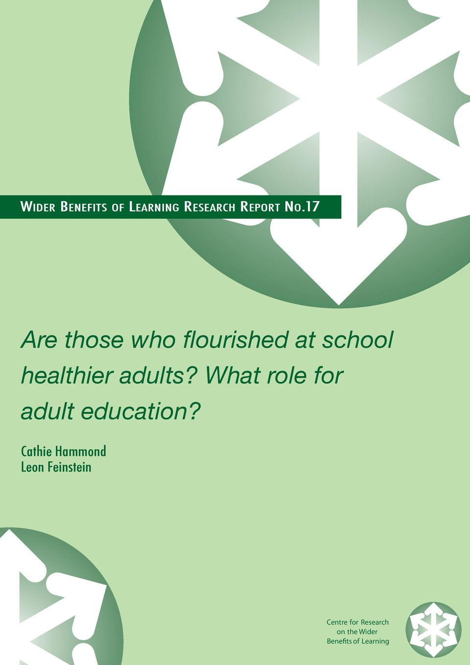 adults? What role for adult education?