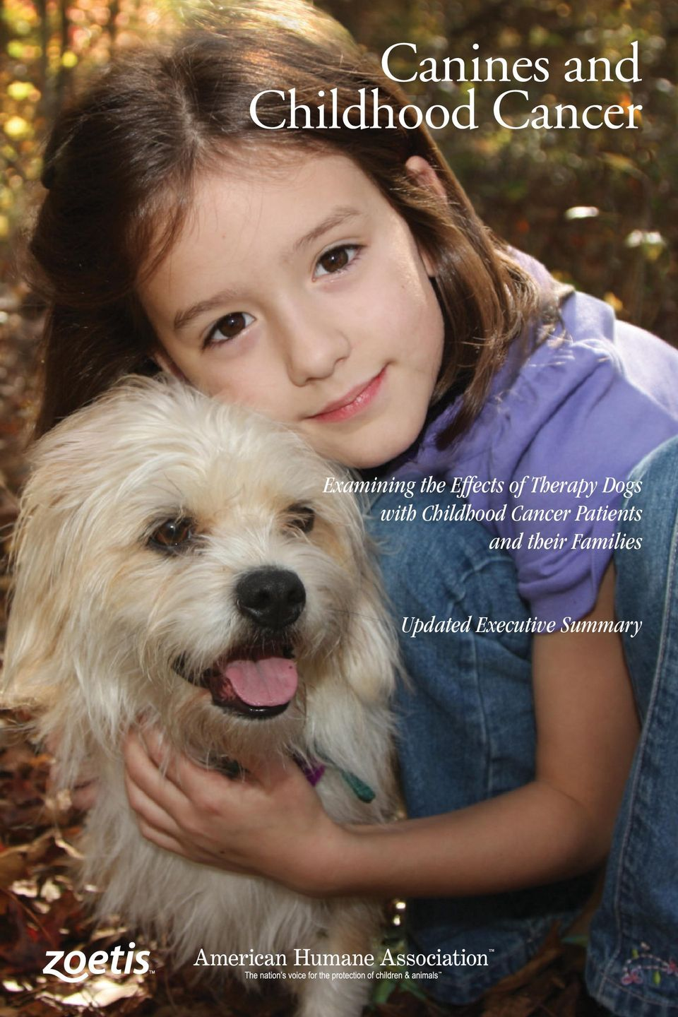 Dogs with Childhood Cancer Patients