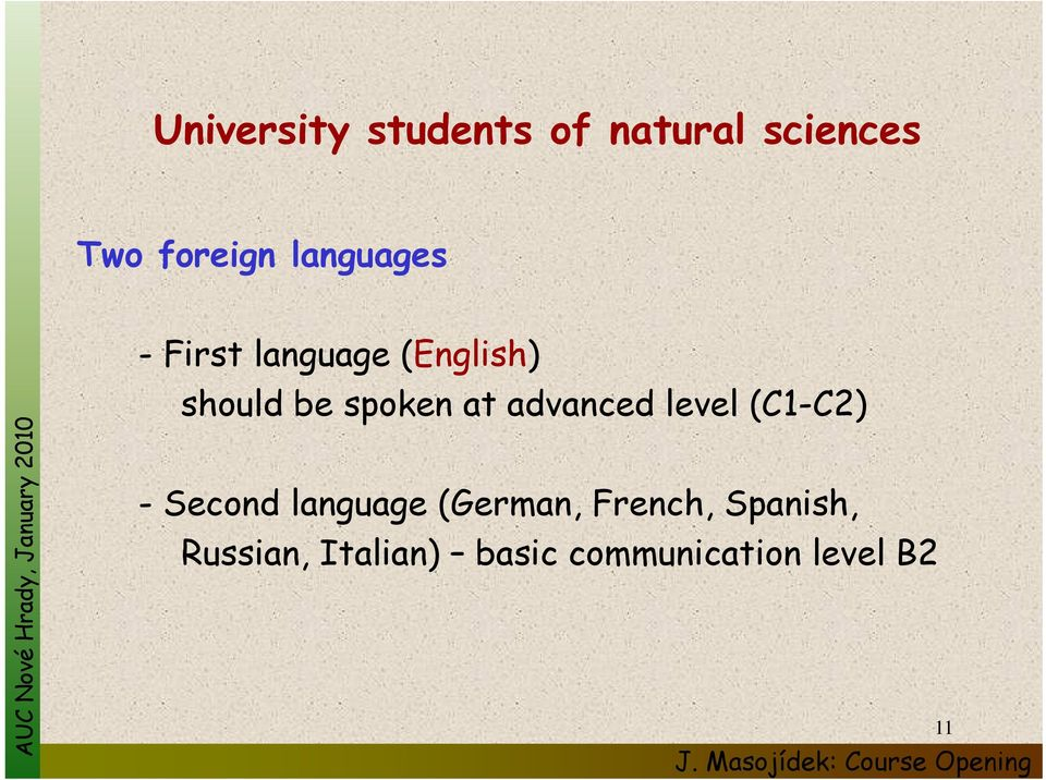 advanced d level l (C1-C2) - Second language (German,