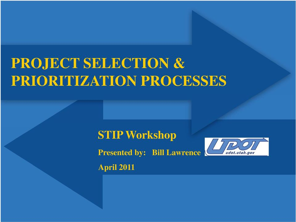 STIP Workshop Presented