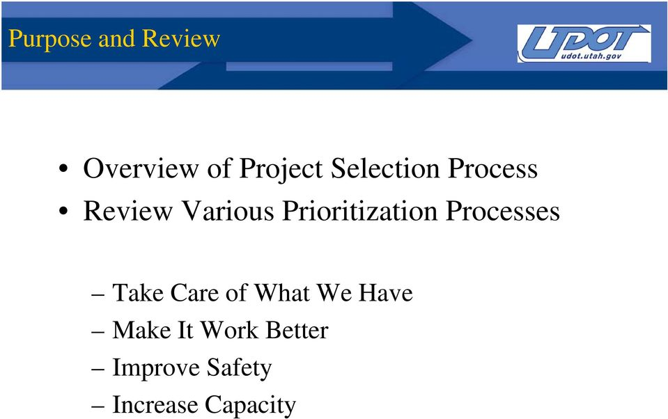 Prioritization Processes Tk Take Care of