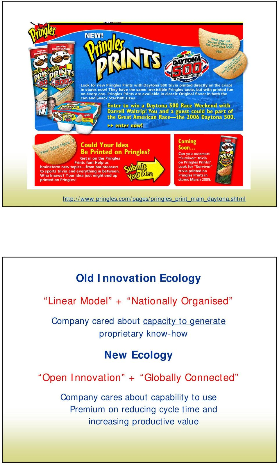 about capacity to generate proprietary know-how New Ecology Open Innovation +