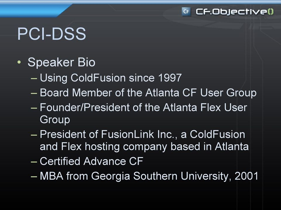 President of FusionLink Inc.