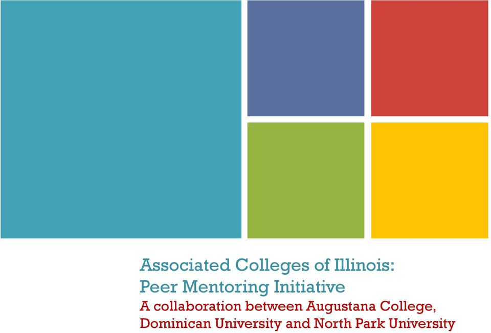 collaboration between Augustana