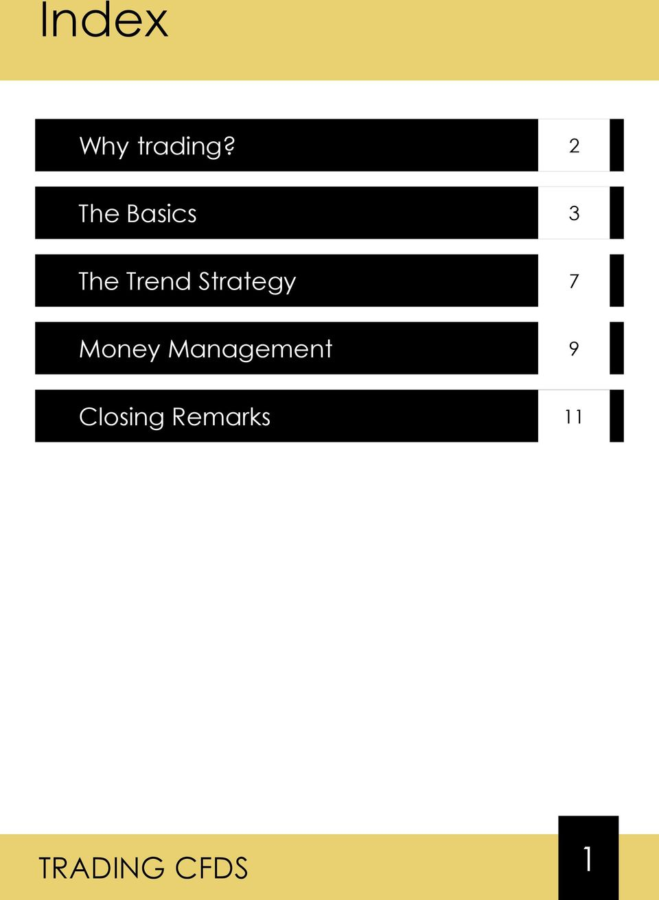 Trend Strategy 7 Money