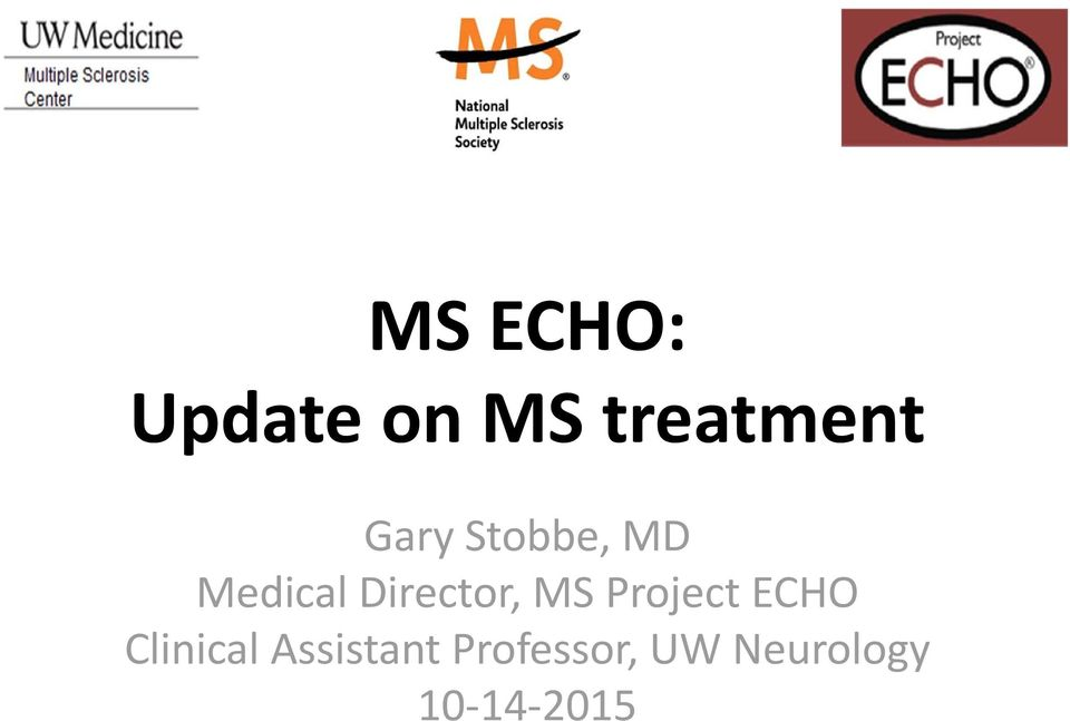MS Project ECHO Clinical