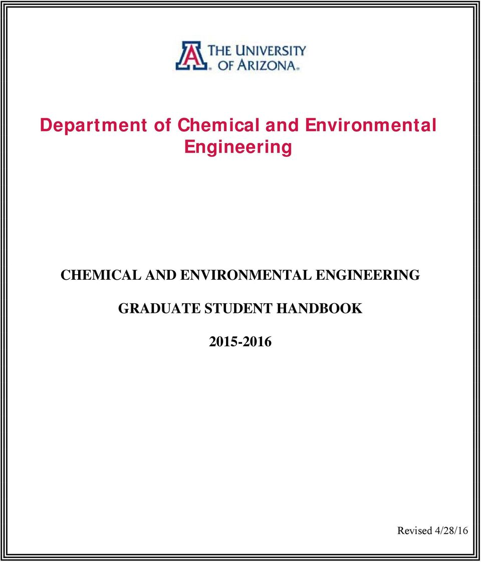 AND ENVIRONMENTAL ENGINEERING