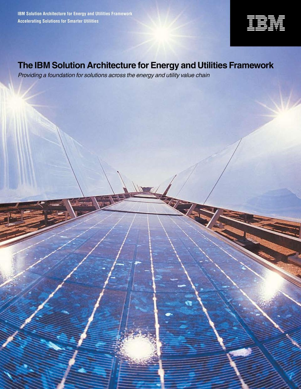 foundation for solutions across the energy and utility value