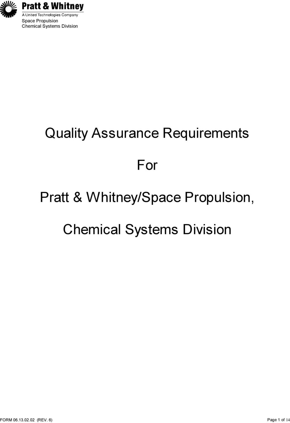 Whitney/Space Propulsion,