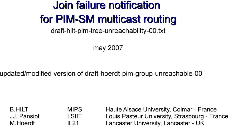 Interdomain Multicast Routing Pdf