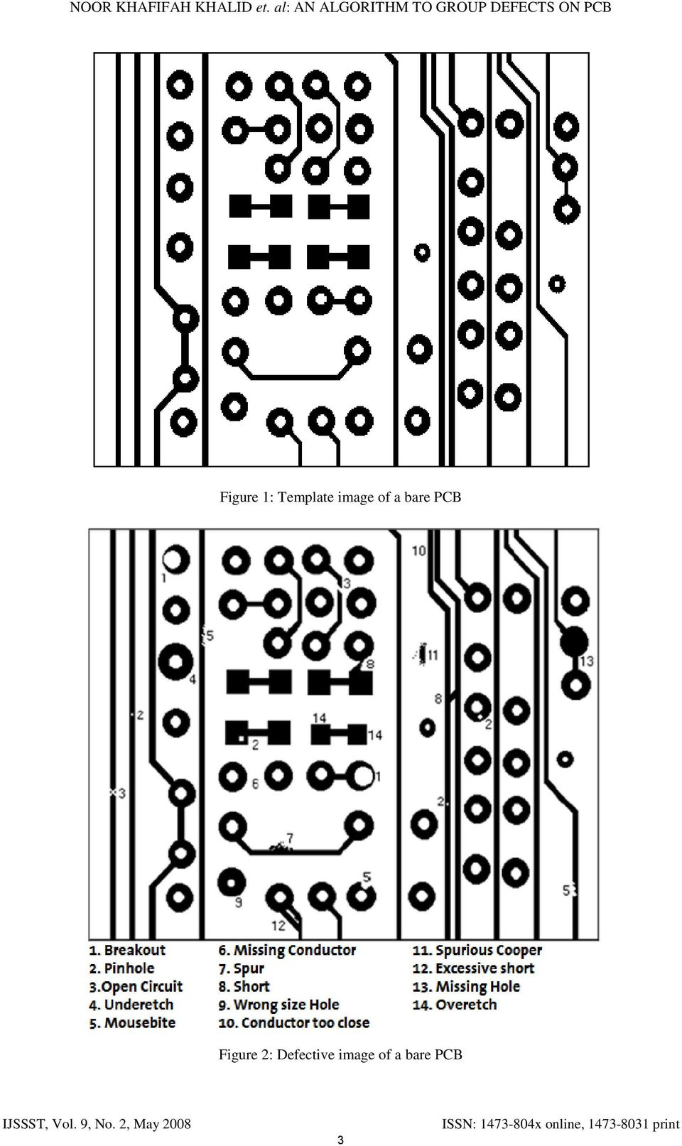 ON PCB Figure 1: Template image of a