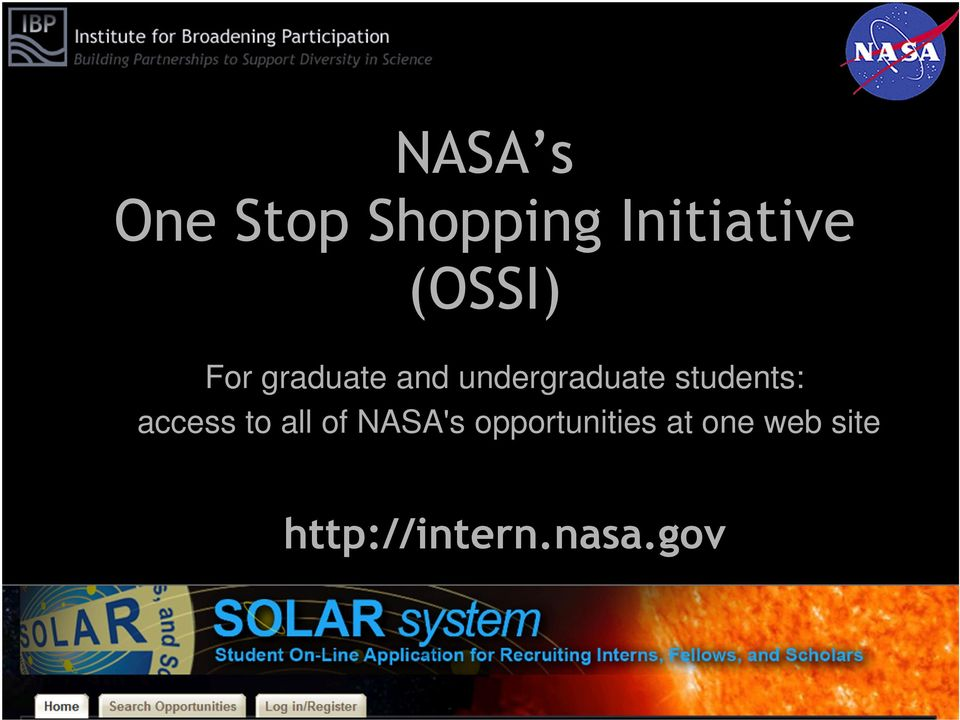 students: access to all of NASA's