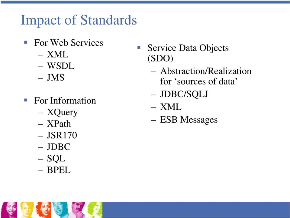 Service Data Objects (SDO)
