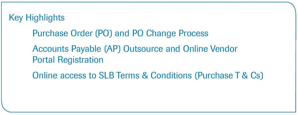 Outsource and Online Vendor Portal
