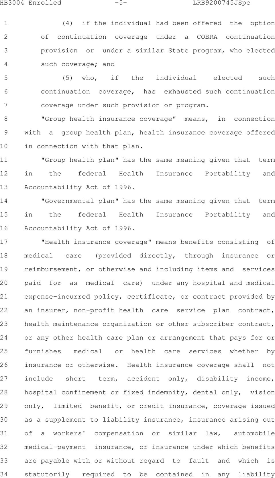 "8 ""Group health insurance coverage"" means, in connection 9 with a group health plan, health insurance coverage offered 10 in connection with that plan."