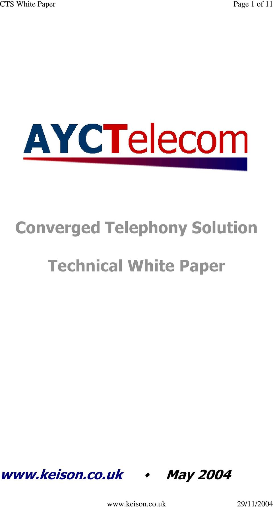 Telephony Solution