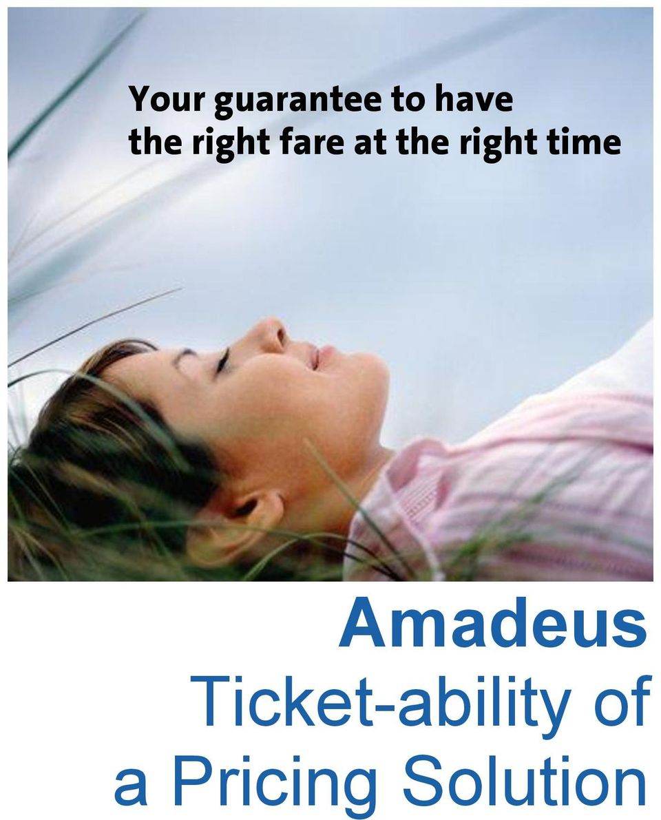 right time Amadeus