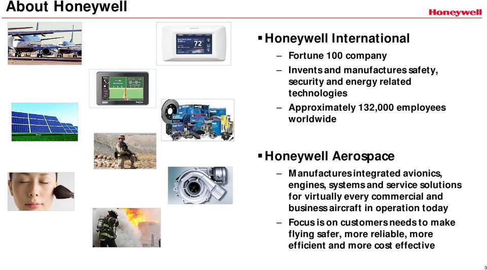 integrated avionics, engines, systems and service solutions for virtually every commercial and business