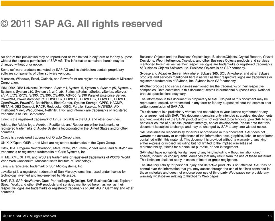 Some software products marketed by SAP AG and its distributors contain proprietary software components of other software vendors.