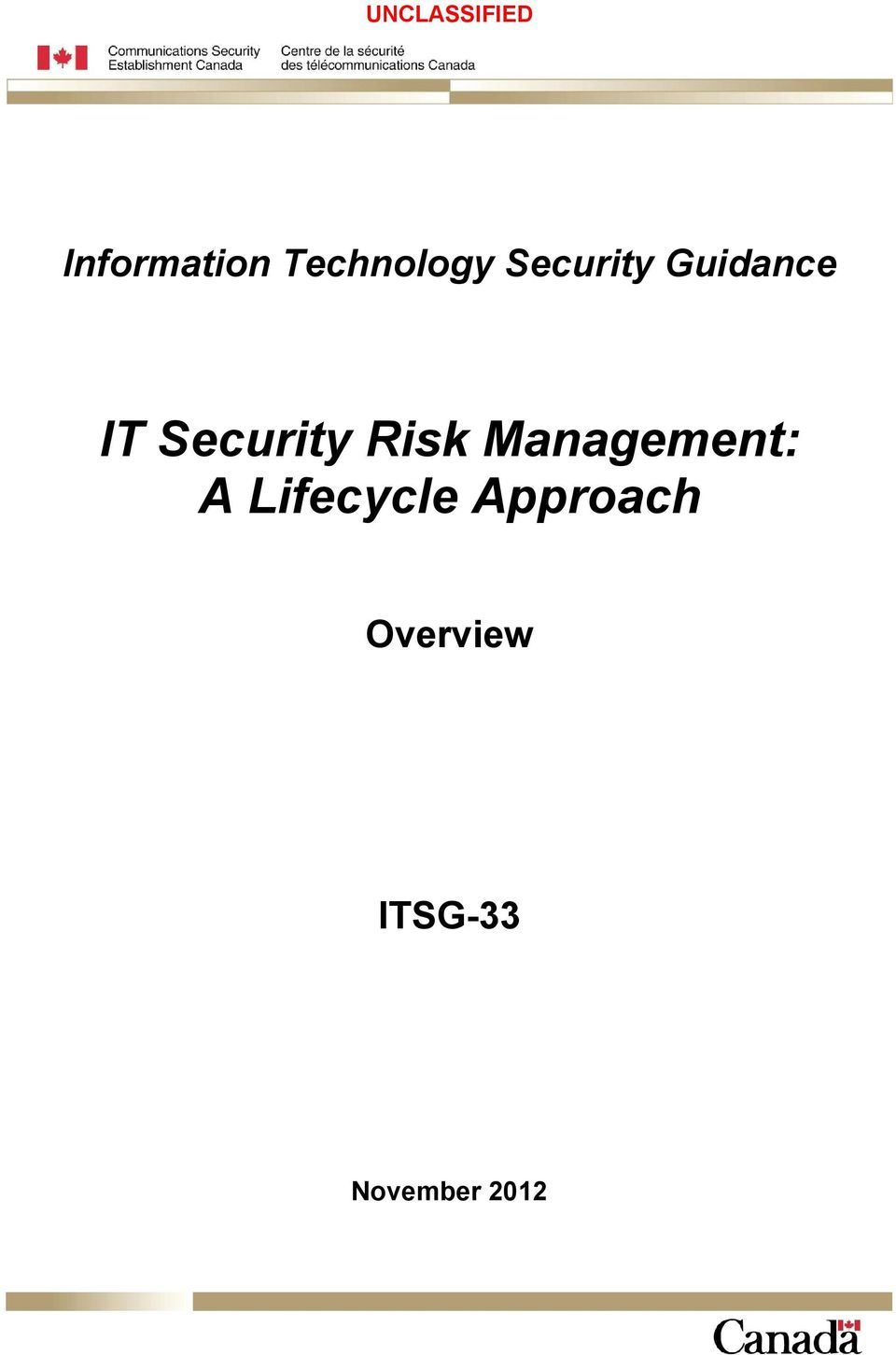 Security Risk Management: A