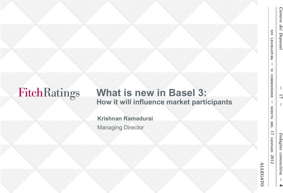 Basel 3: How it will influence market