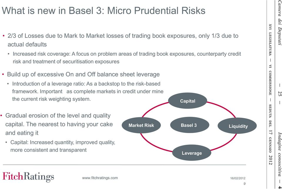 backstop to the risk-based framework. Important as complete markets in credit under mine the current risk weighting system. Gradual erosion of the level and quality capital.