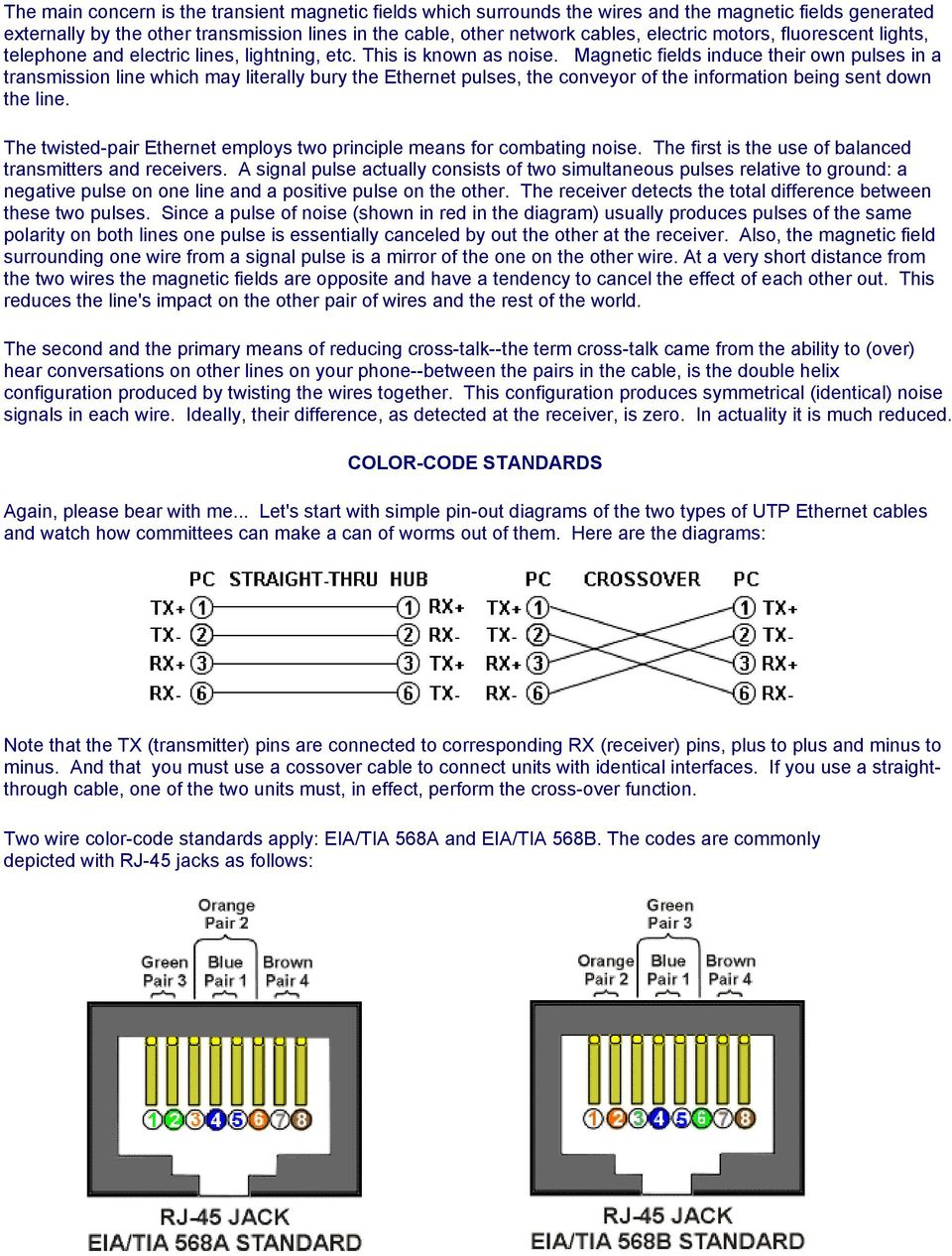 Standard Ether Cable Wiring Diagram As Well 568b Crossover Cable Color