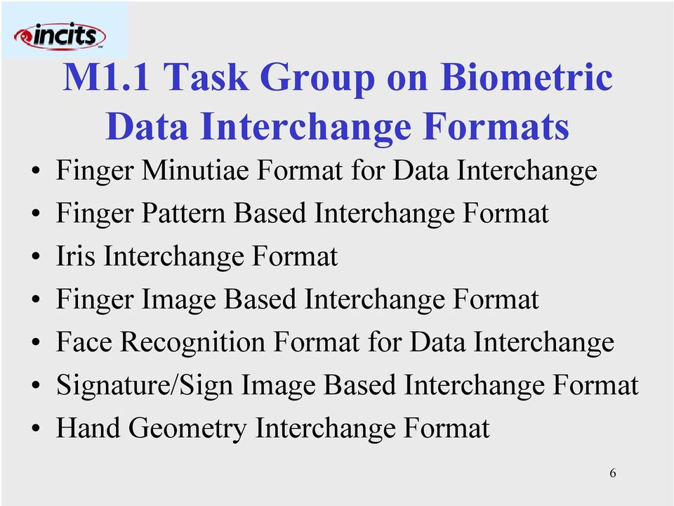 Finger Image Based Interchange Format Face Recognition Format for Data