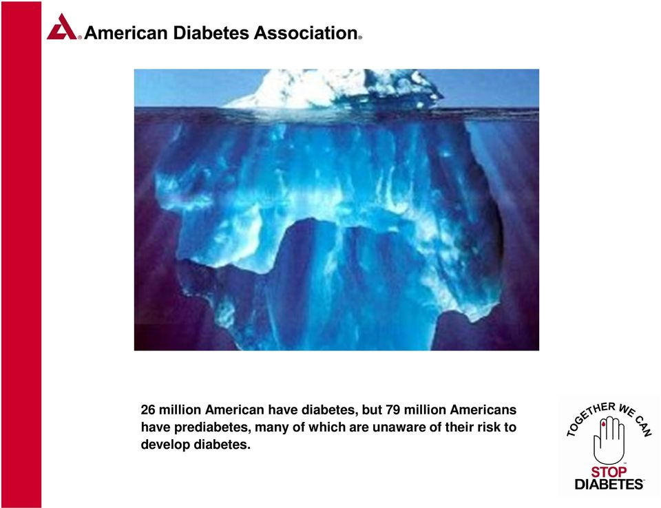 prediabetes, many of which are