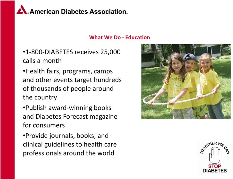 country Publish award-winning books and Diabetes Forecast magazine for consumers