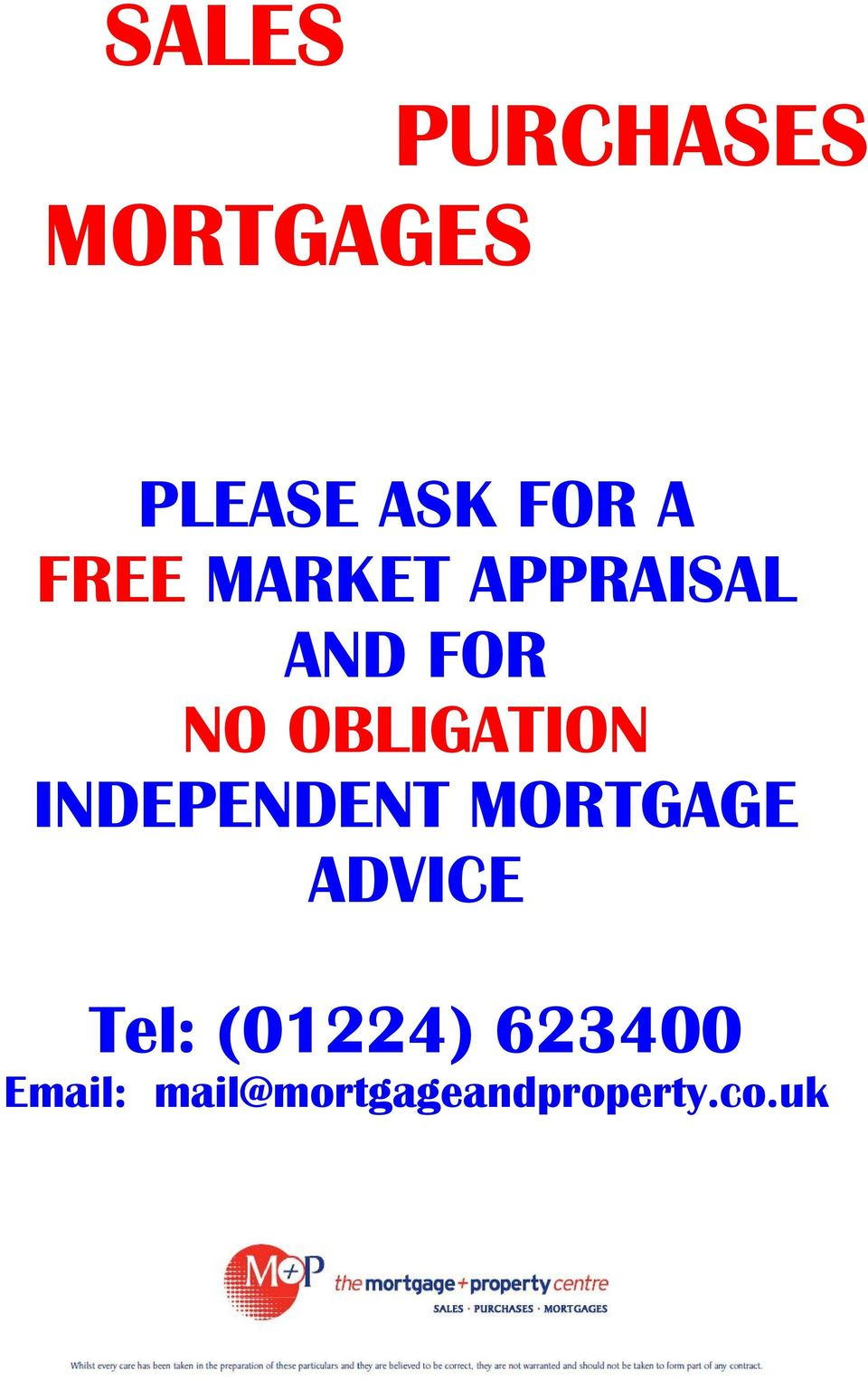OBLIGATION INDEPENDENT MORTGAGE ADVICE