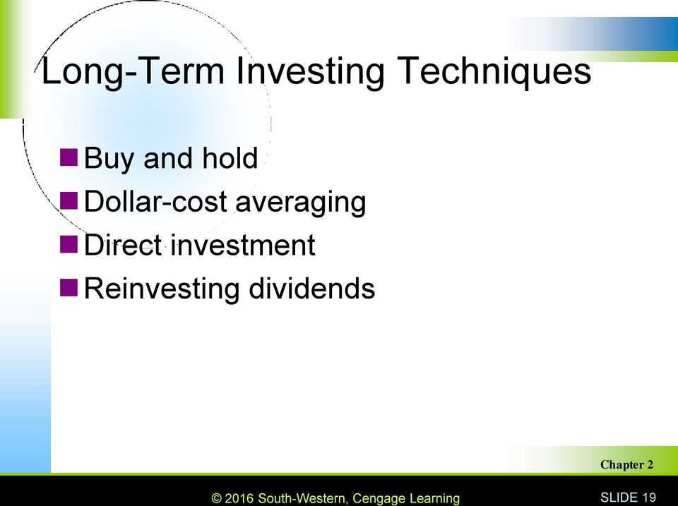 Dollar-cost averaging Direct