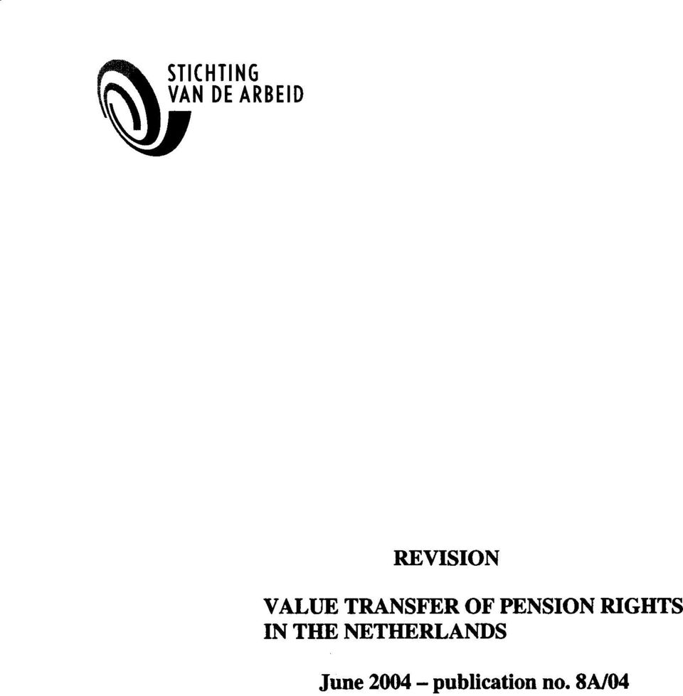 PENSION RIGHTS IN THE