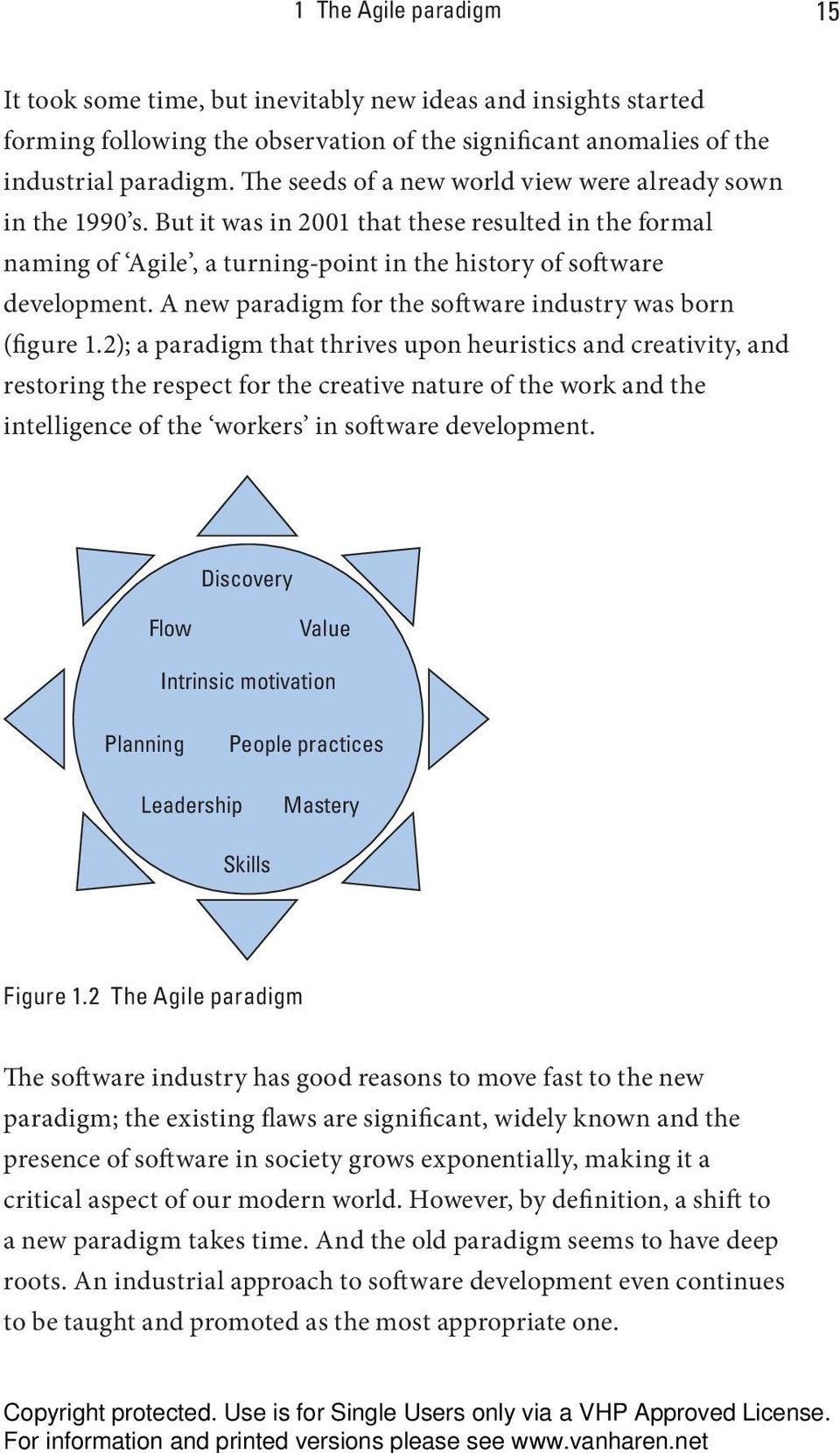 A new paradigm for the software industry was born (figure 1.