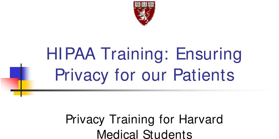 Patients Privacy