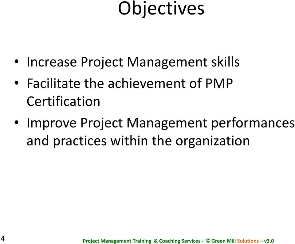 Certification Improve Project Management