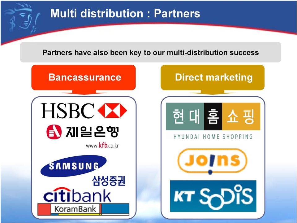 our multi-distribution success