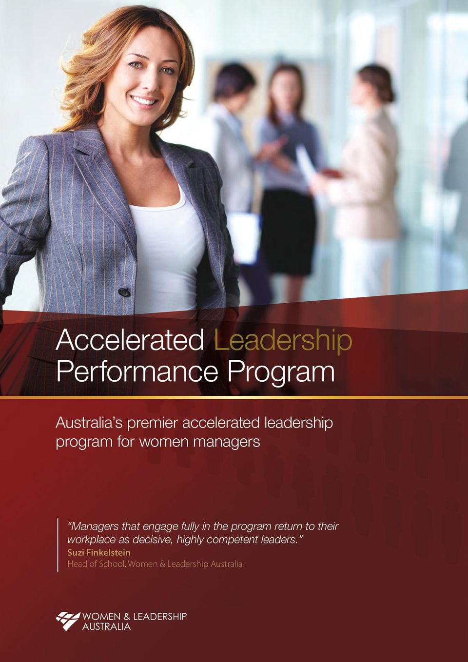 engage flly in the program retrn to their workplace as decisive,