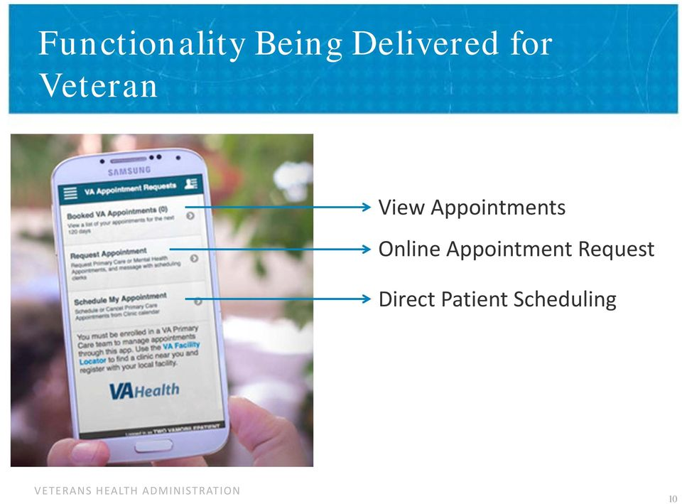 Appointment Request Direct Patient