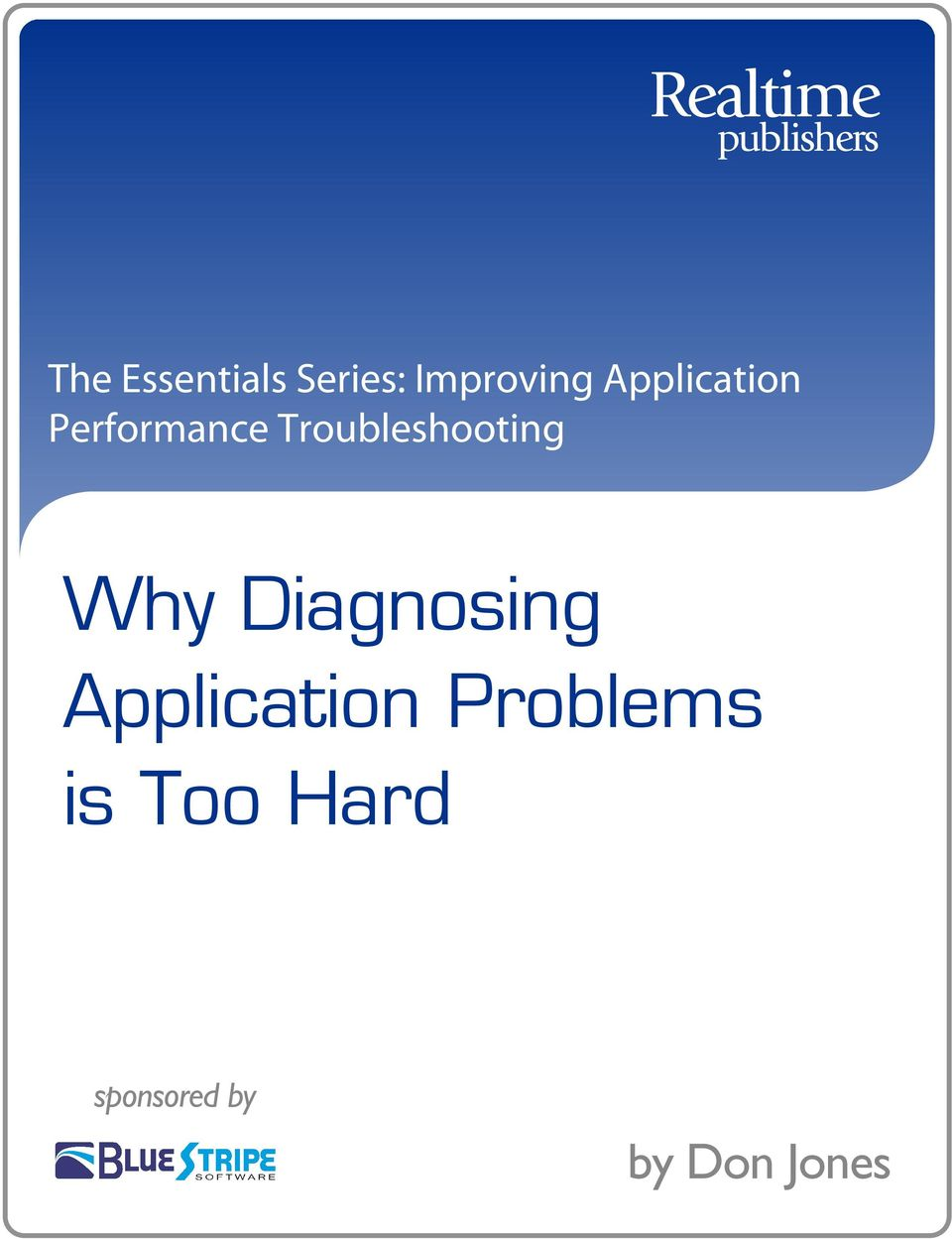 Troubleshooting Why Diagnosing