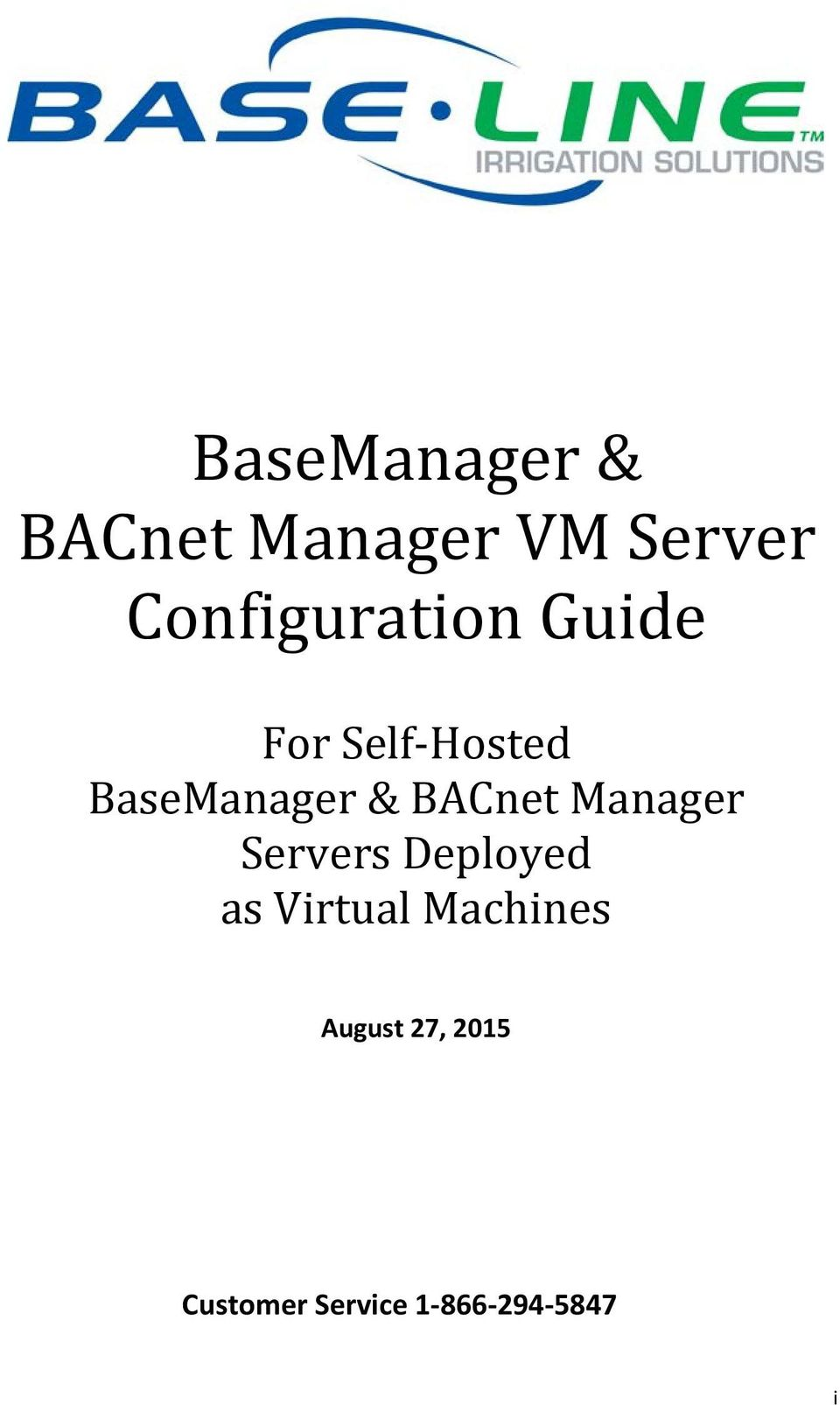 & BACnet Manager Servers Deployed as Virtual